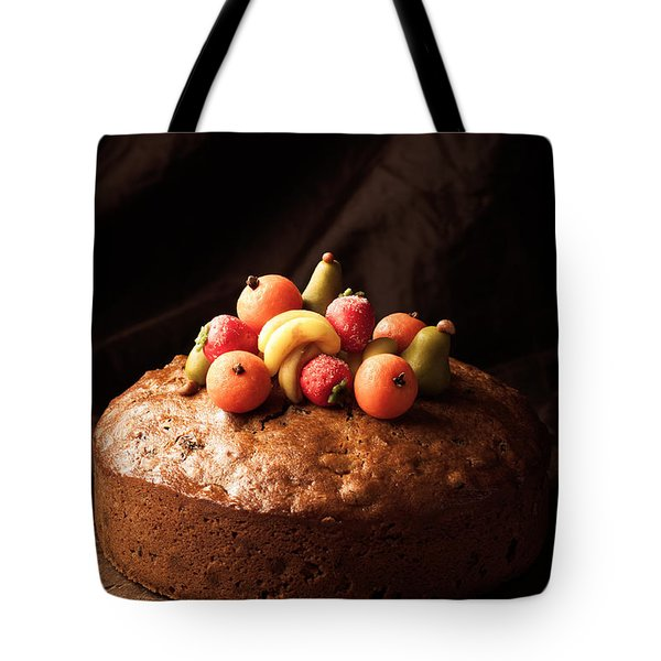Homemade Rich Fruit Cake Tote Bag by Amanda Elwell