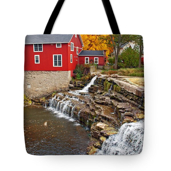 Honeoye Falls 1 Tote Bag by Aimee L Maher Photography and Art