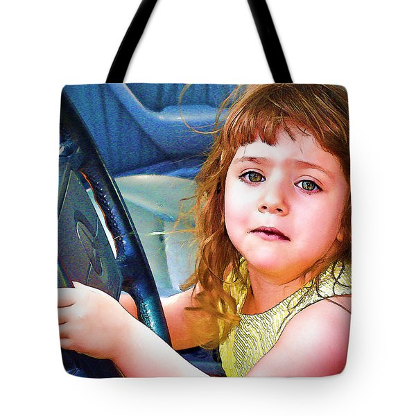 Honest Officer Tote Bag by Chuck Staley