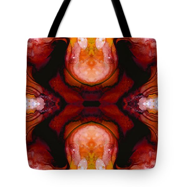 Honesty - Visionary Art By Sharon Cummings Tote Bag by Sharon Cummings