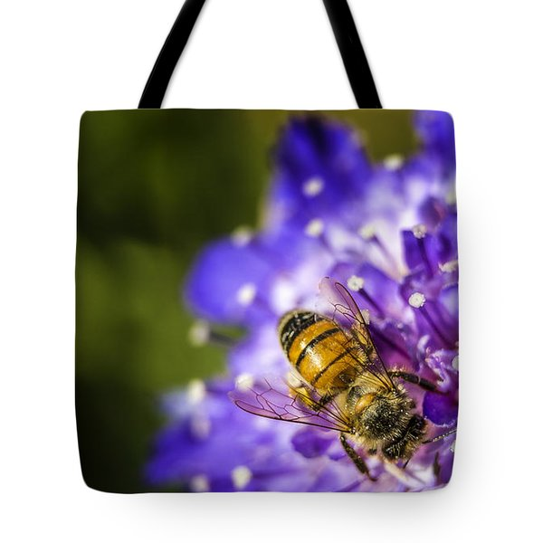 Honey Bee Tote Bag by Caitlyn  Grasso
