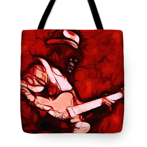 Honeyboy Tote Bag by Terry Fiala