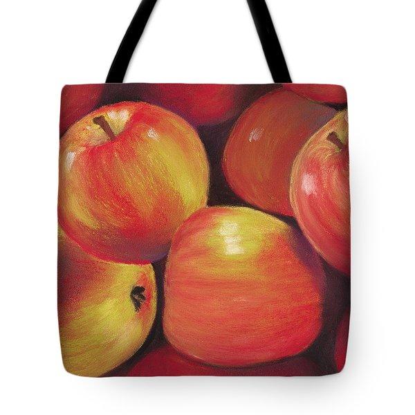 Honeycrisp Apples Tote Bag by Anastasiya Malakhova