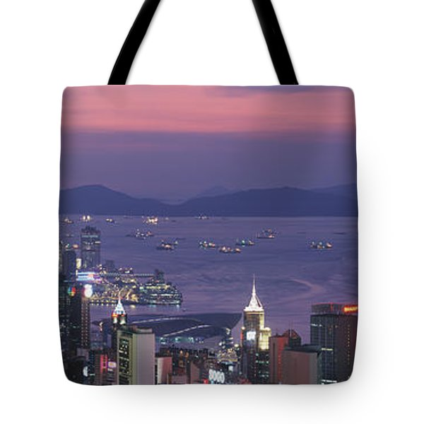 Hong Kong China Tote Bag by Panoramic Images
