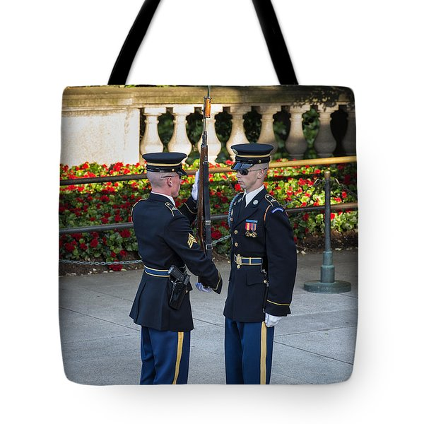 Honor Guard Inspection Tote Bag by John Greim