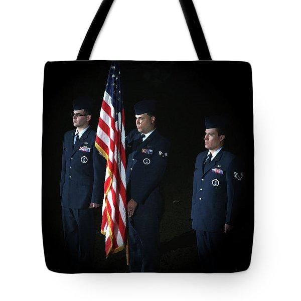 Honor Guard Tote Bag by Karol Livote