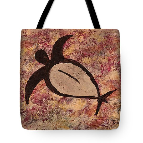 Honu Tote Bag by Darice Machel McGuire