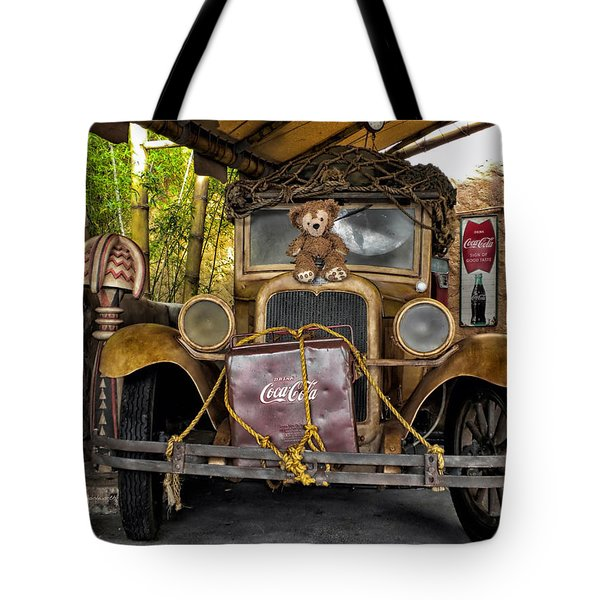 Hood Ornament Bear 2 Tote Bag by Thomas Woolworth