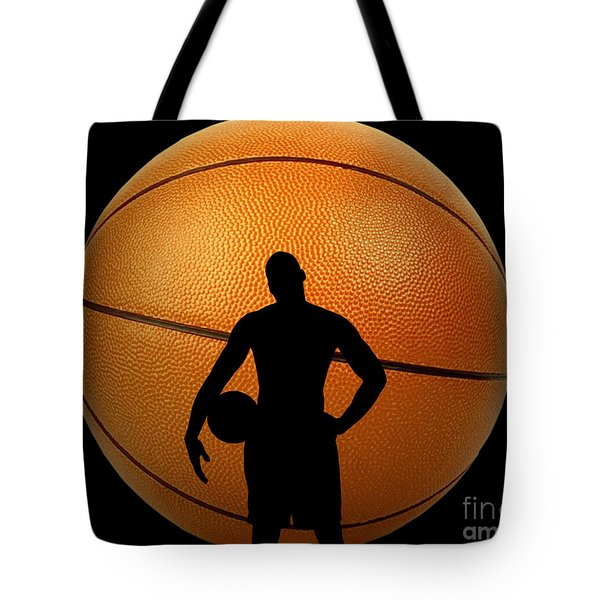 Hoop Dreams Tote Bag by Cheryl Young