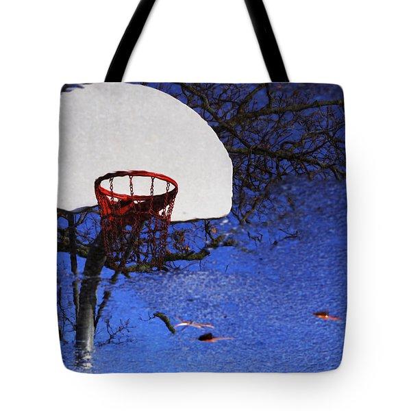 Hoop Dreams Tote Bag by Jason Politte