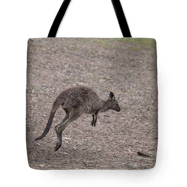 Hop Tote Bag by Mike  Dawson