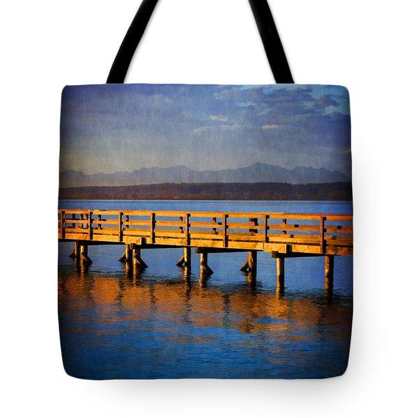 Hope For Tomorrow Tote Bag by Jordan Blackstone