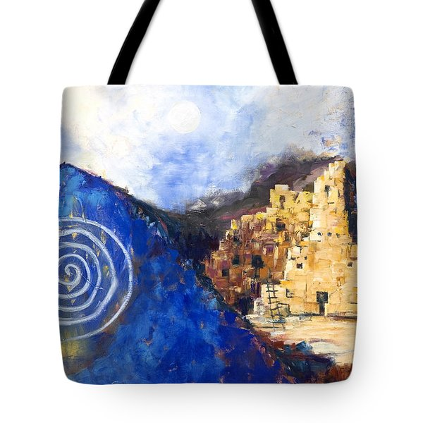 Hopi Spirit Tote Bag by Jerry McElroy