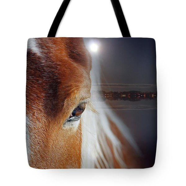 Horses  Tote Bag by Mark Ashkenazi