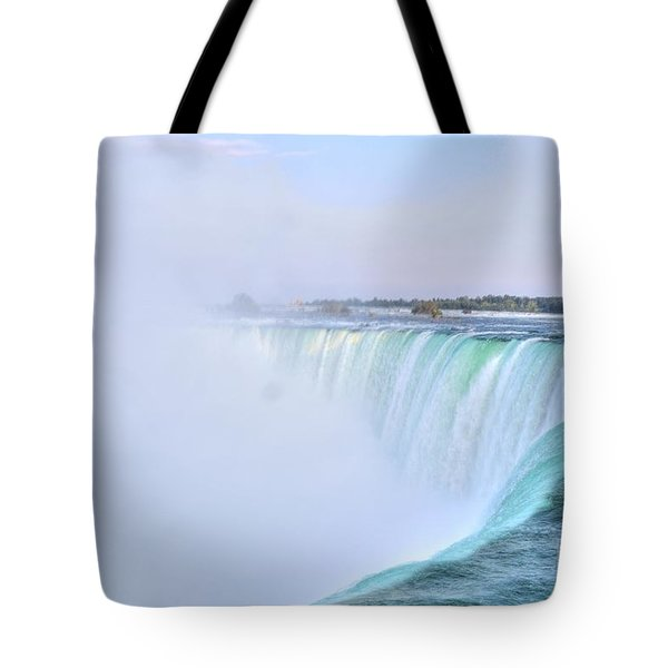 Horseshoe Falls Tote Bag by Kathleen Struckle