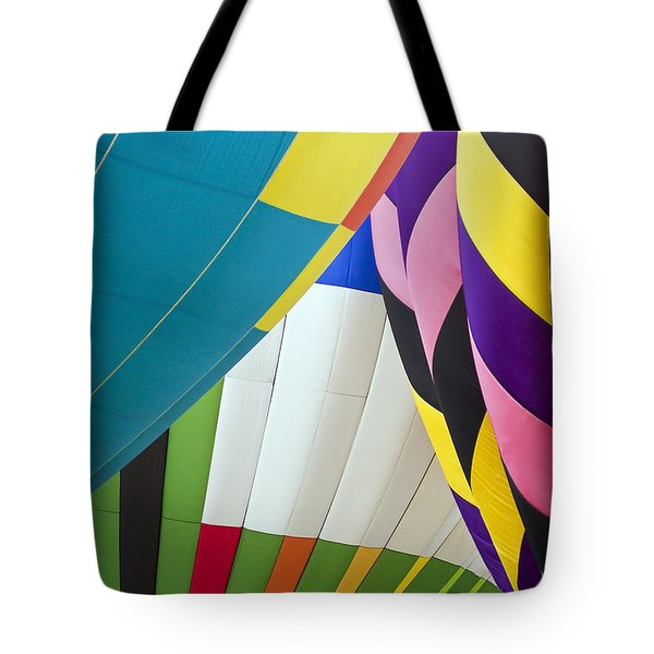 Hot Air Balloon Tote Bag by Marcia Colelli