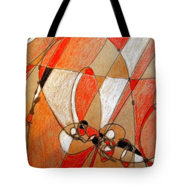 Hot Air Ballooning Tote Bag by Nancy Kane Chapman