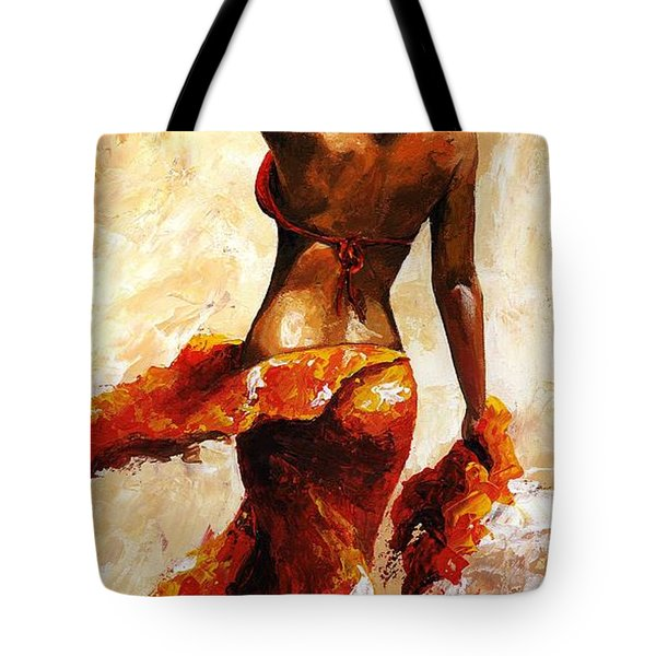 Hot Breeze  Tote Bag by Emerico Imre Toth