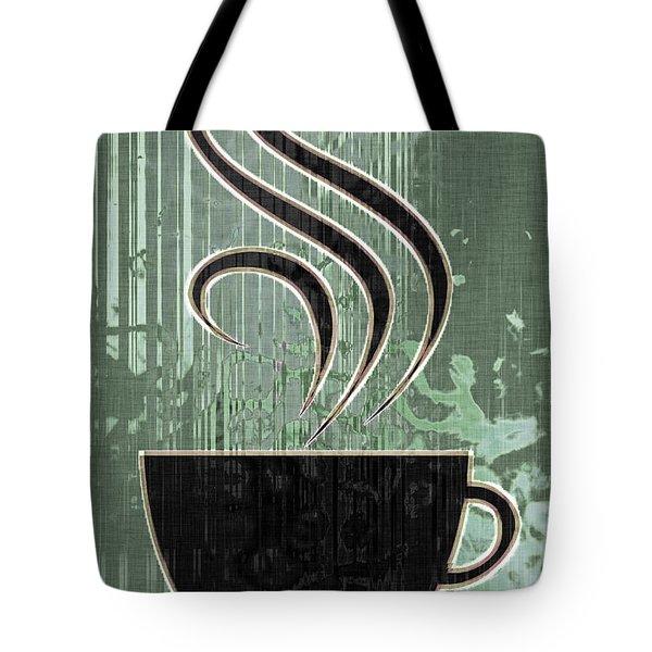 Hot Coffee Tote Bag by David G Paul