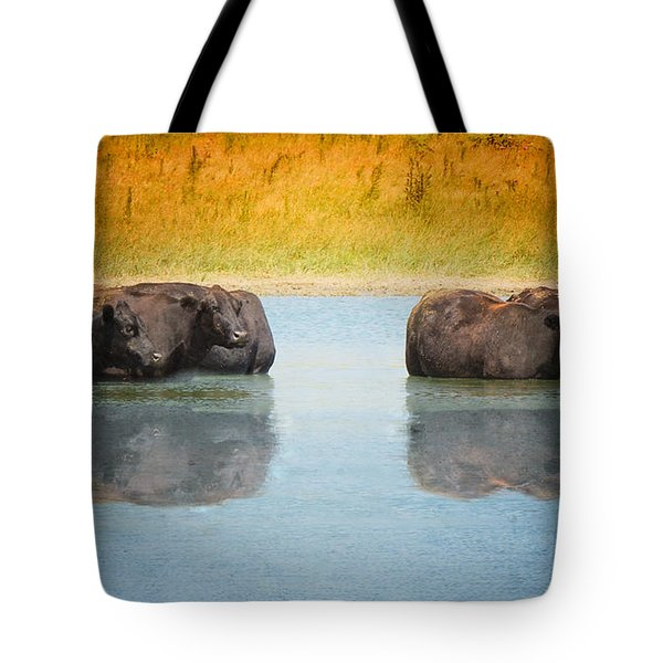 Hot Day Tote Bag by Betty LaRue