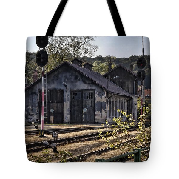 Hot Dry And Dusty Tote Bag by Joan Carroll