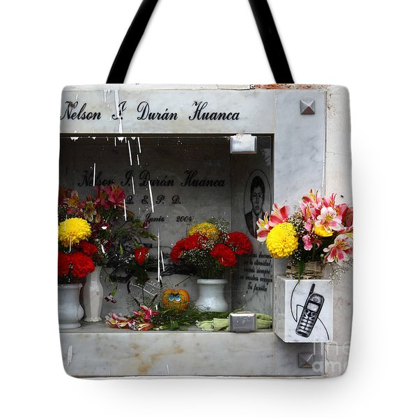 Hotline To The Afterlife 2 Tote Bag by James Brunker