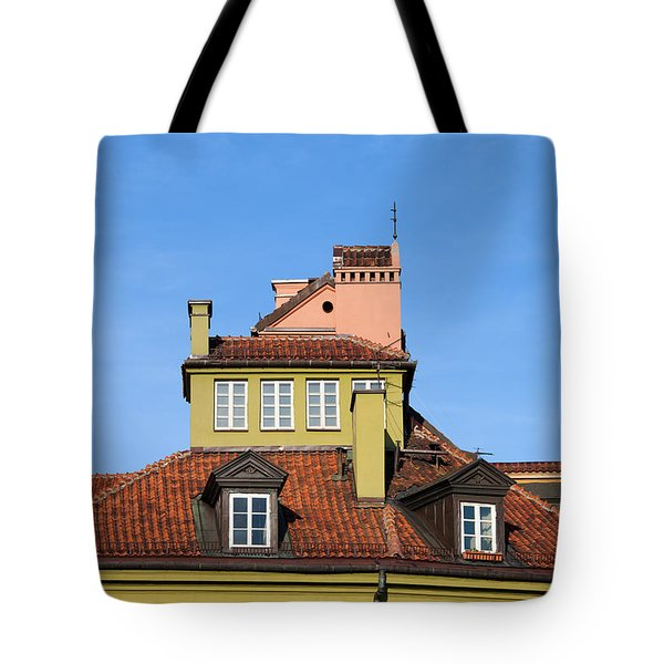 House Attic Tote Bag by Artur Bogacki