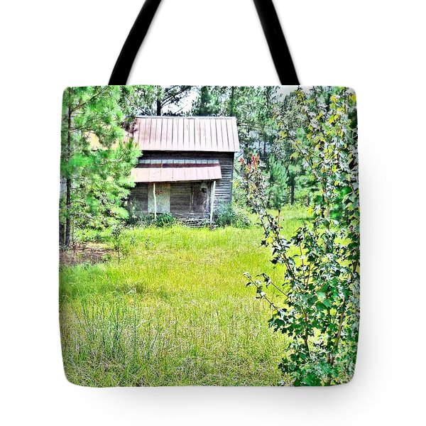 House In The Thicket Tote Bag by Eloise Schneider