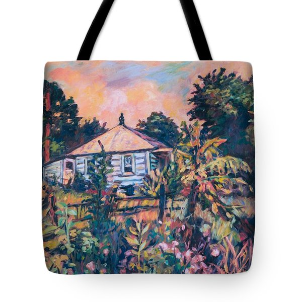 House On Route 11 Tote Bag by Kendall Kessler