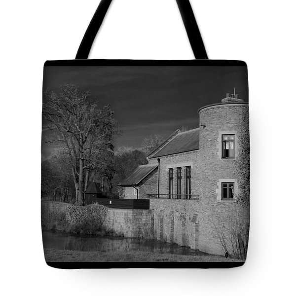 House On The River Tote Bag by Maj Seda