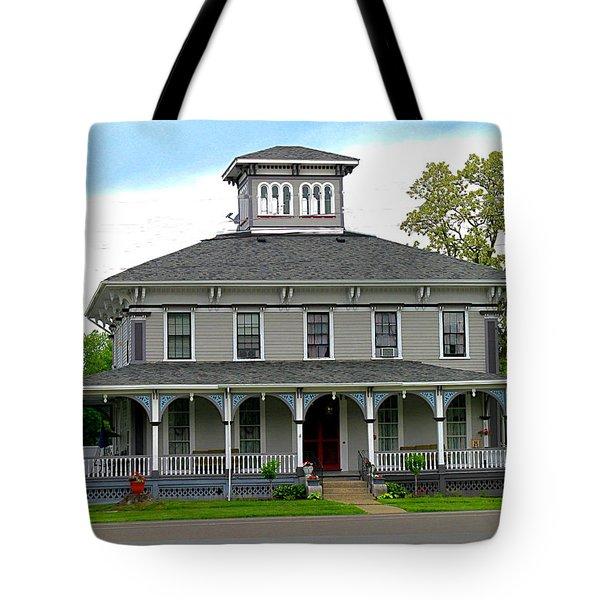 House Tote Bag by Rhonda Barrett