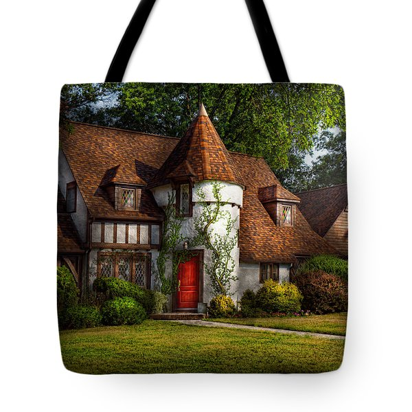 House - Westfield NJ - Fit for a king Tote Bag by Mike Savad