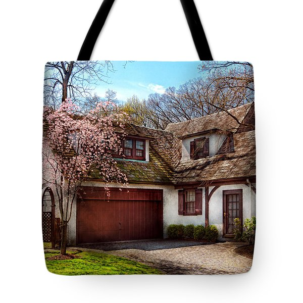 House - Westfield Nj - Who Doesn't Love Spring Tote Bag by Mike Savad