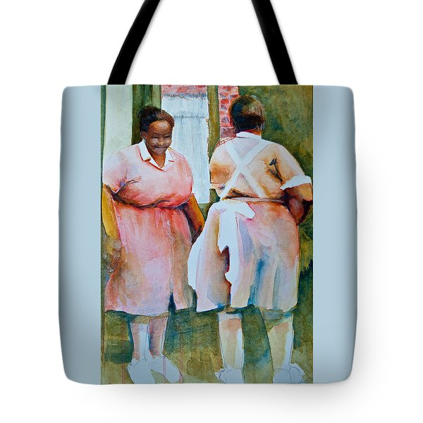 Housekeepers Of Soniat House Tote Bag by Jani Freimann