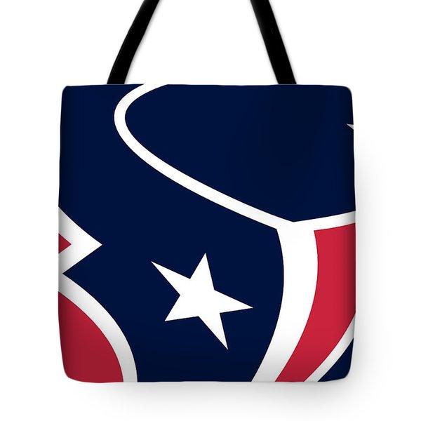 Houston Texans Tote Bag by Tony Rubino