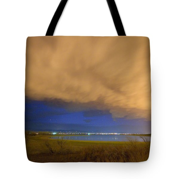 Hovering Stormy Weather Tote Bag by James BO  Insogna