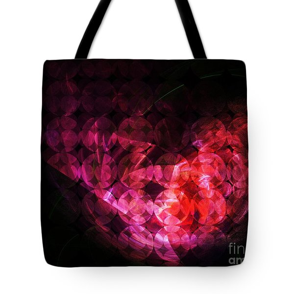 How Can You Mend A Broken Heart? Tote Bag by Elizabeth McTaggart