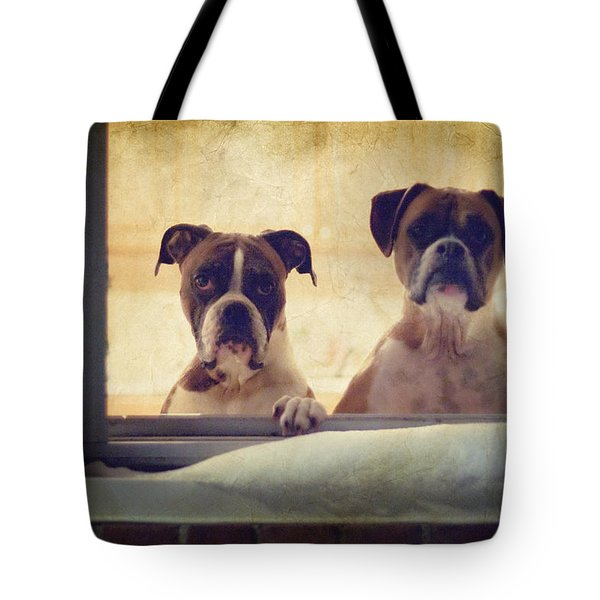 How Much is that Doggie in the Window? Tote Bag by Stephanie McDowell
