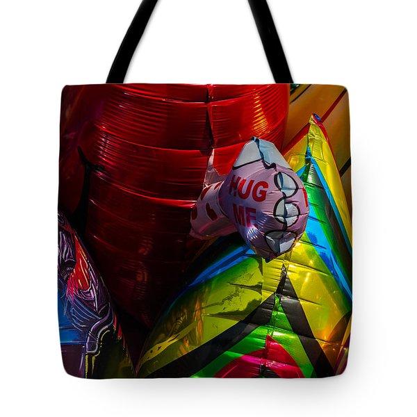 Hug Me - Featured 3 Tote Bag by Alexander Senin