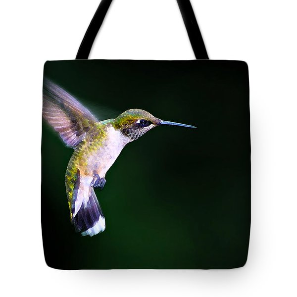 Hummer Ballet 2 Tote Bag by Bill Caldwell -        ABeautifulSky Photography