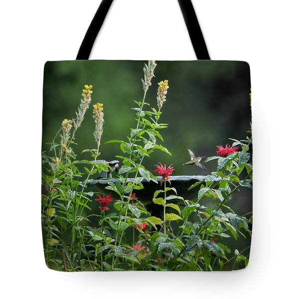 Humming Bird Tote Bag by Bill  Wakeley