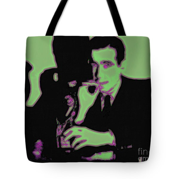 Humphrey Bogart and The Maltese Falcon 20130323 Tote Bag by Wingsdomain Art and Photography