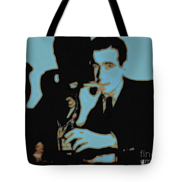 Humphrey Bogart and The Maltese Falcon 20130323p88 Tote Bag by Wingsdomain Art and Photography