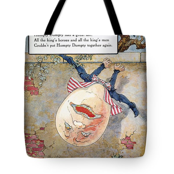 Humpty Dumpty, 1915 Tote Bag by Granger