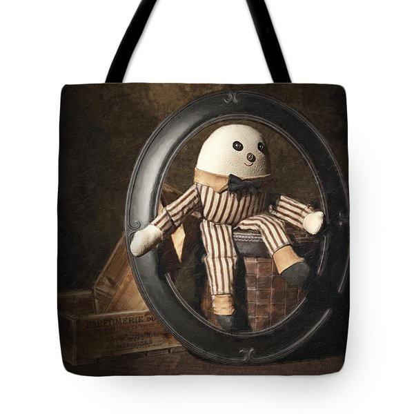 Humpty Dumpty Tote Bag by Tom Mc Nemar