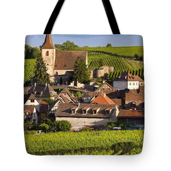 Hunawihr Tote Bag by Brian Jannsen