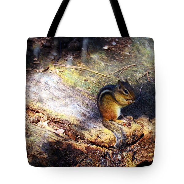 Hungry Tote Bag by Mark Papke