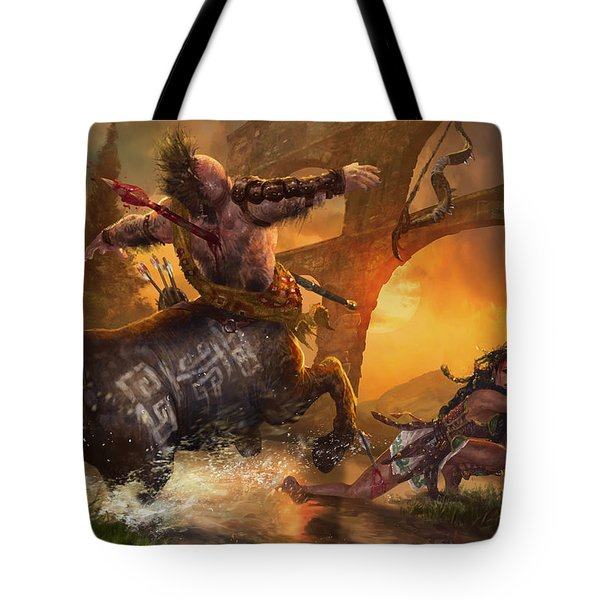 Hunt The Hunter Tote Bag by Ryan Barger
