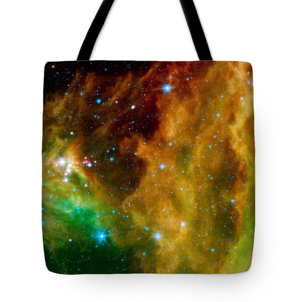 Hunter Constellation Tote Bag by Sebastian Musial
