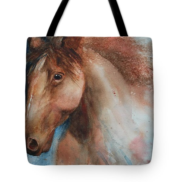 Hunter Tote Bag by Ruth Kamenev